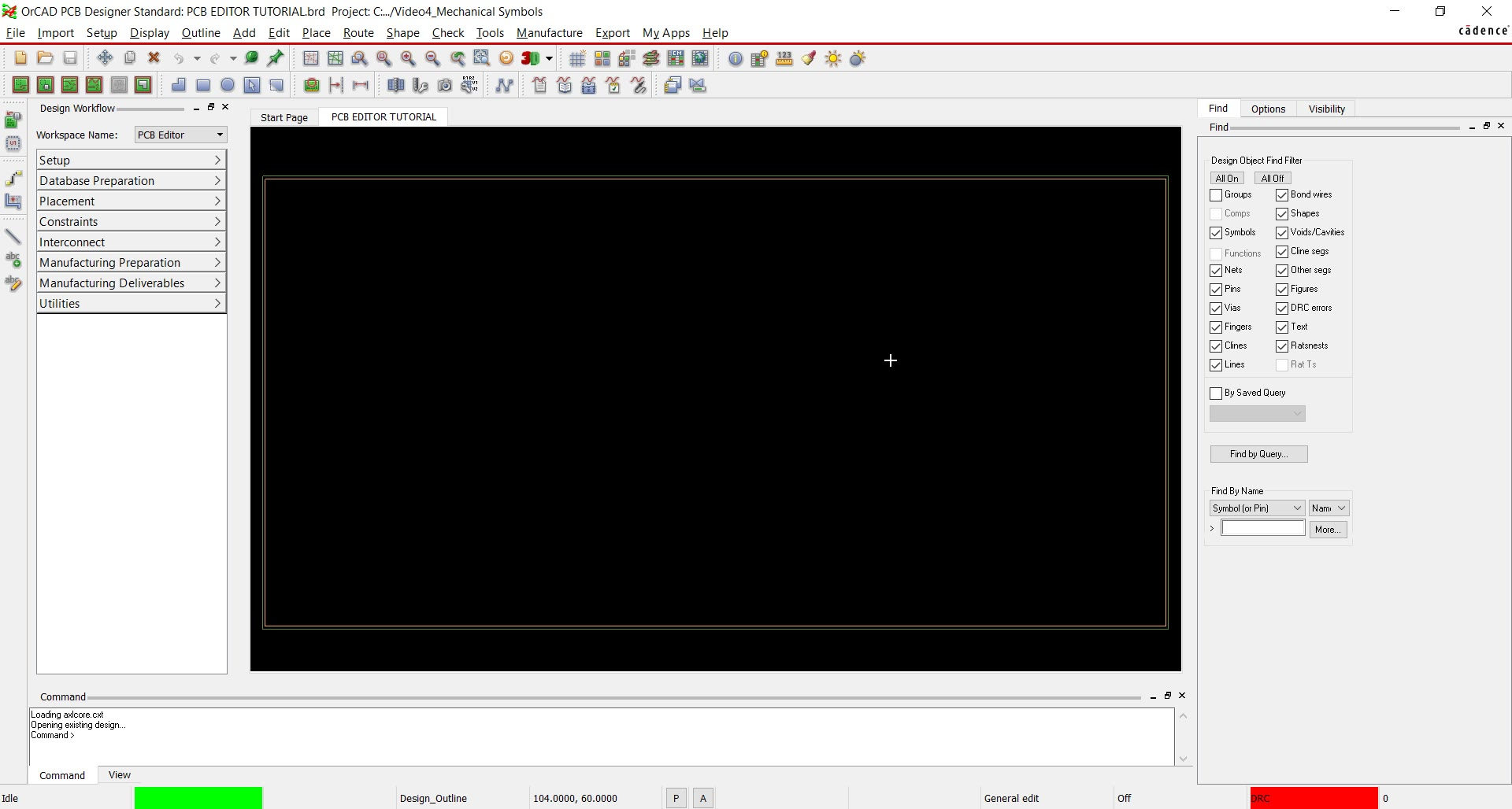 Start Your First Pcb Design In Orcad Electronic Symbols List Component Schematic Watch Video