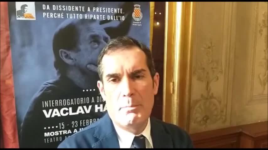 Al Teatro Aycardi di Finale una mostra su Vaclav Havel