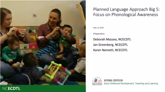Focus on Phonological Awareness