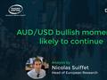 AUD/USD bullish momentum likely to continue
