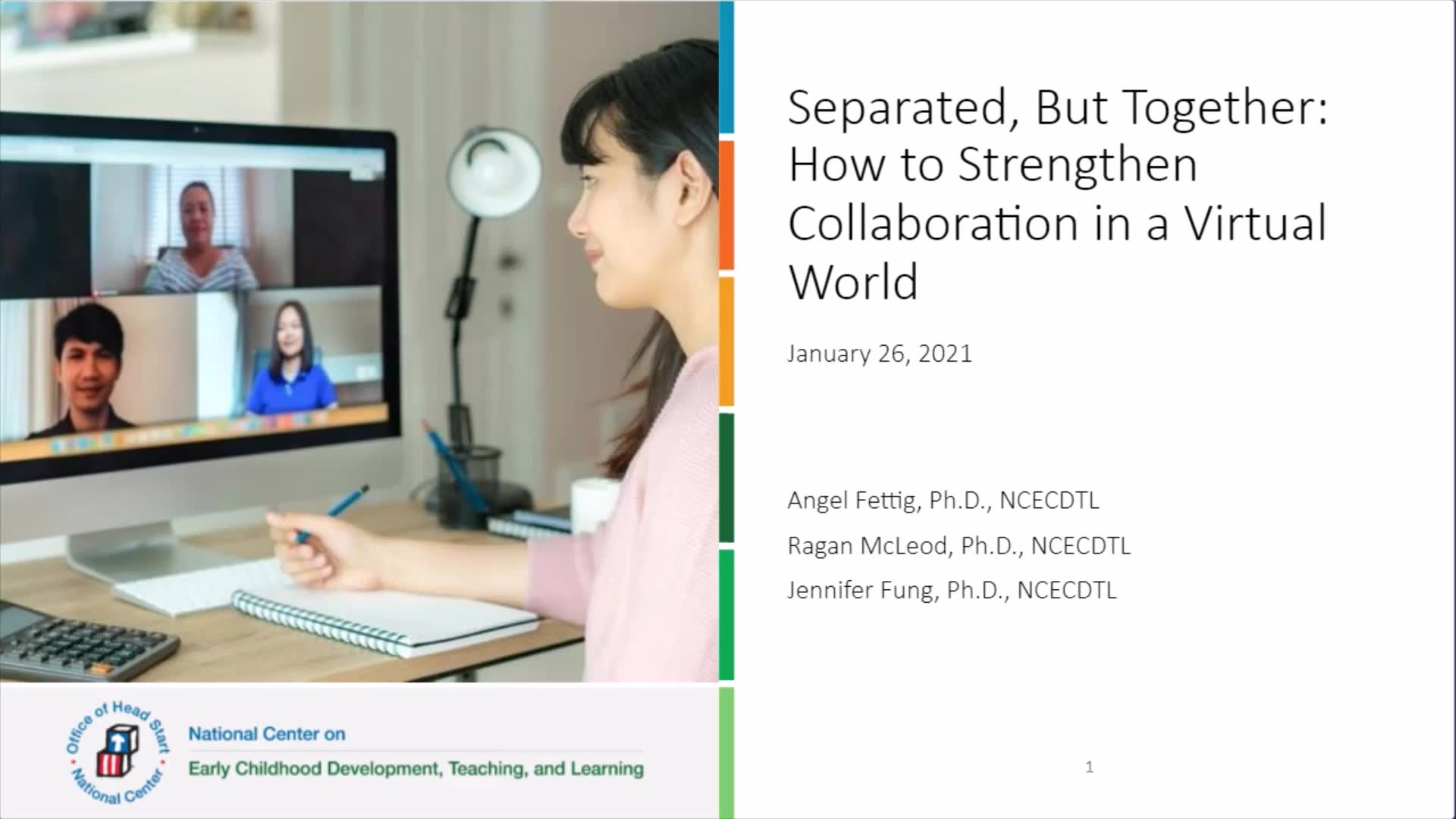 Separated, But Together: How to Strengthen Collaboration in a Virtual World