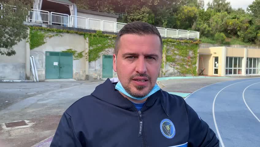 Varazze Don Bosco: mister Gianni Berogno commenta il pareggio con il Pietra Ligure