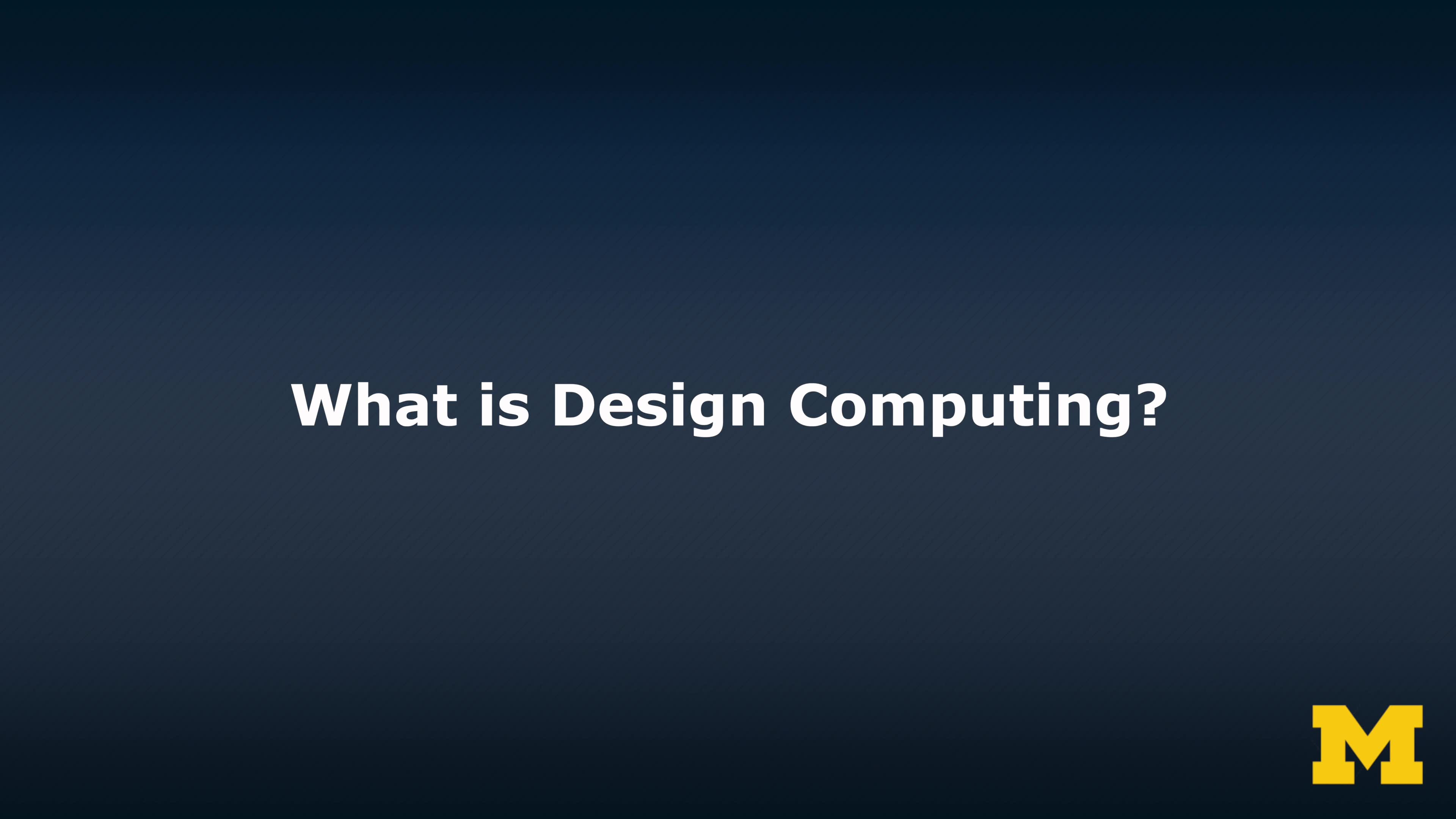 what is design computing