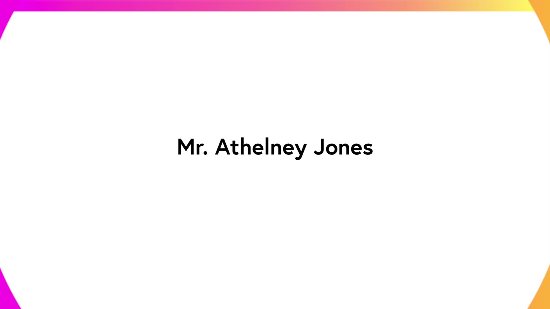 Mr Athelney Jones