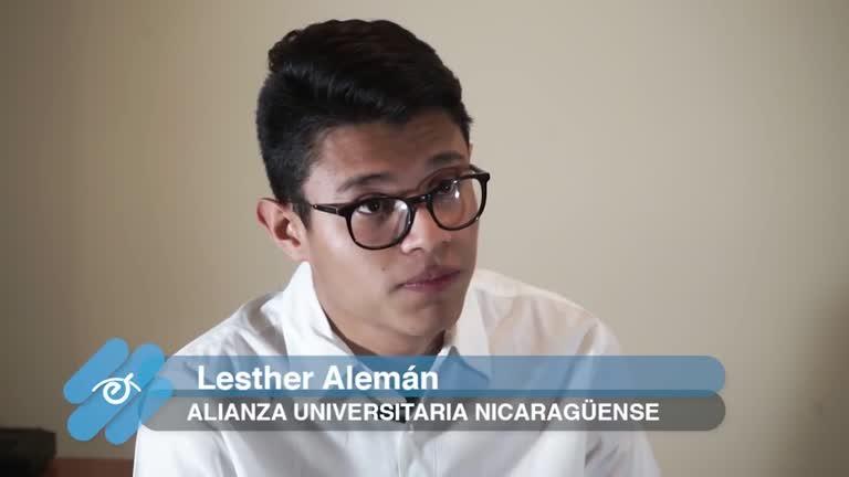 Entrevista a Lesther Alemán