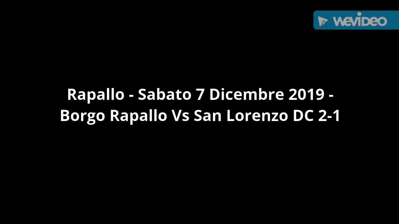 Seconda Categoria girone E: Borgo Rapallo contro San Lorenzo DC Sanvi