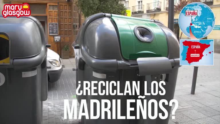 Reciclaje y contaminación en Madrid: entrevista
