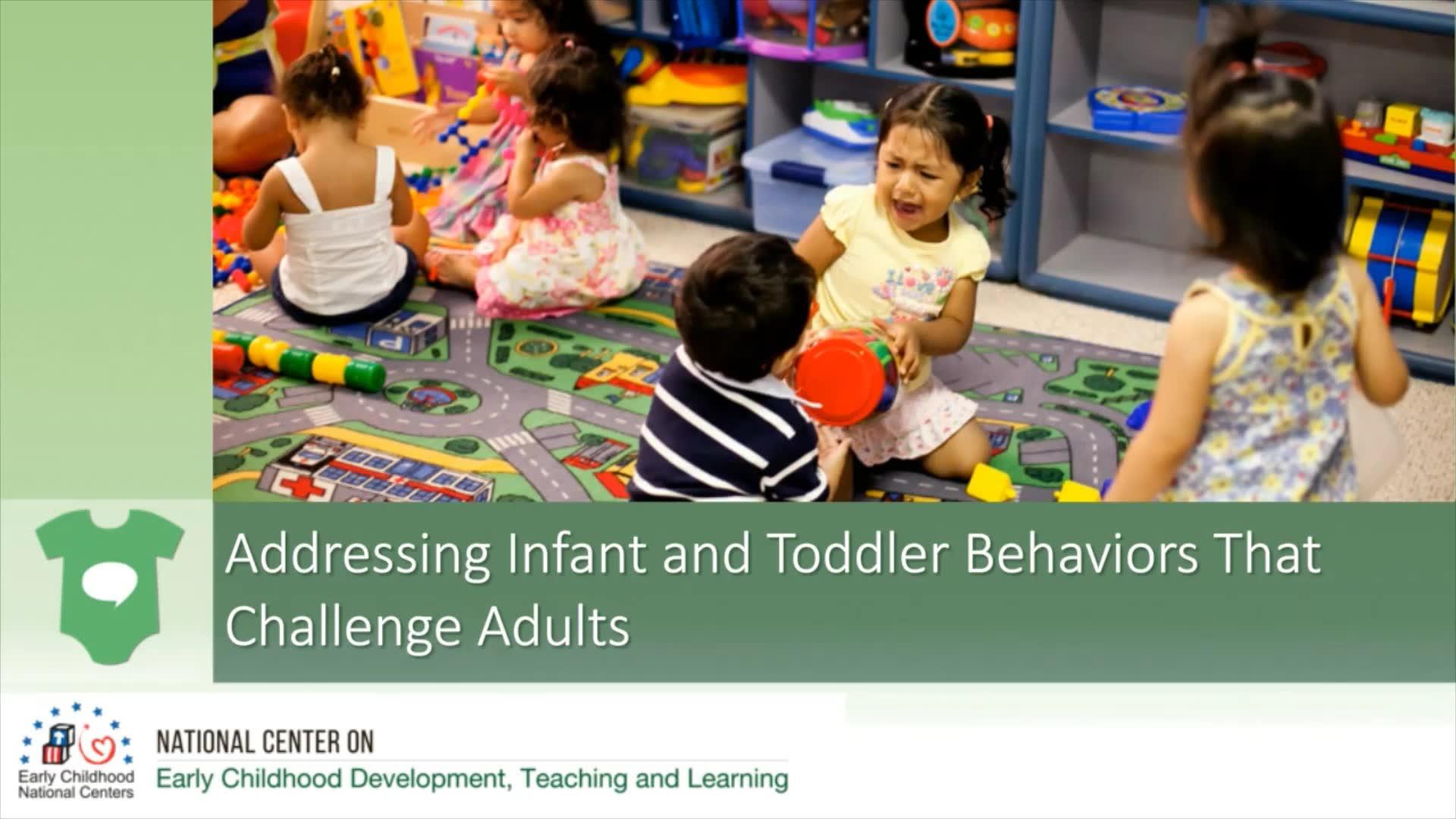 Cómo abordar los comportamientos del bebé y del niño que desafían a los adultos