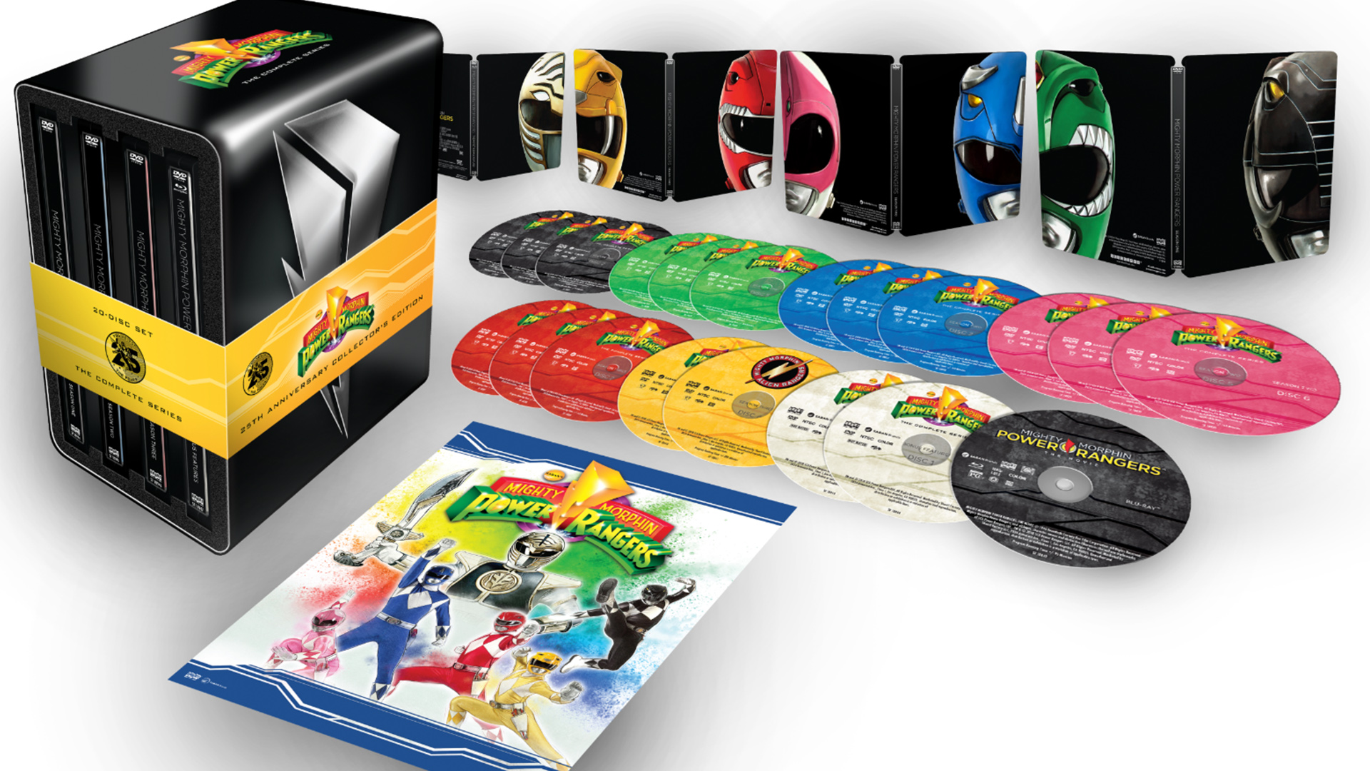 Mighty Morphin Power Rangers: The Complete Series [25th Anniversary