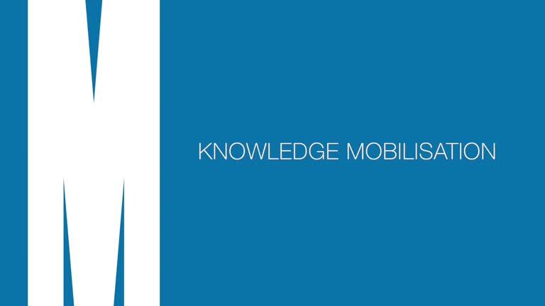 Graeme on knowledge mobilisation