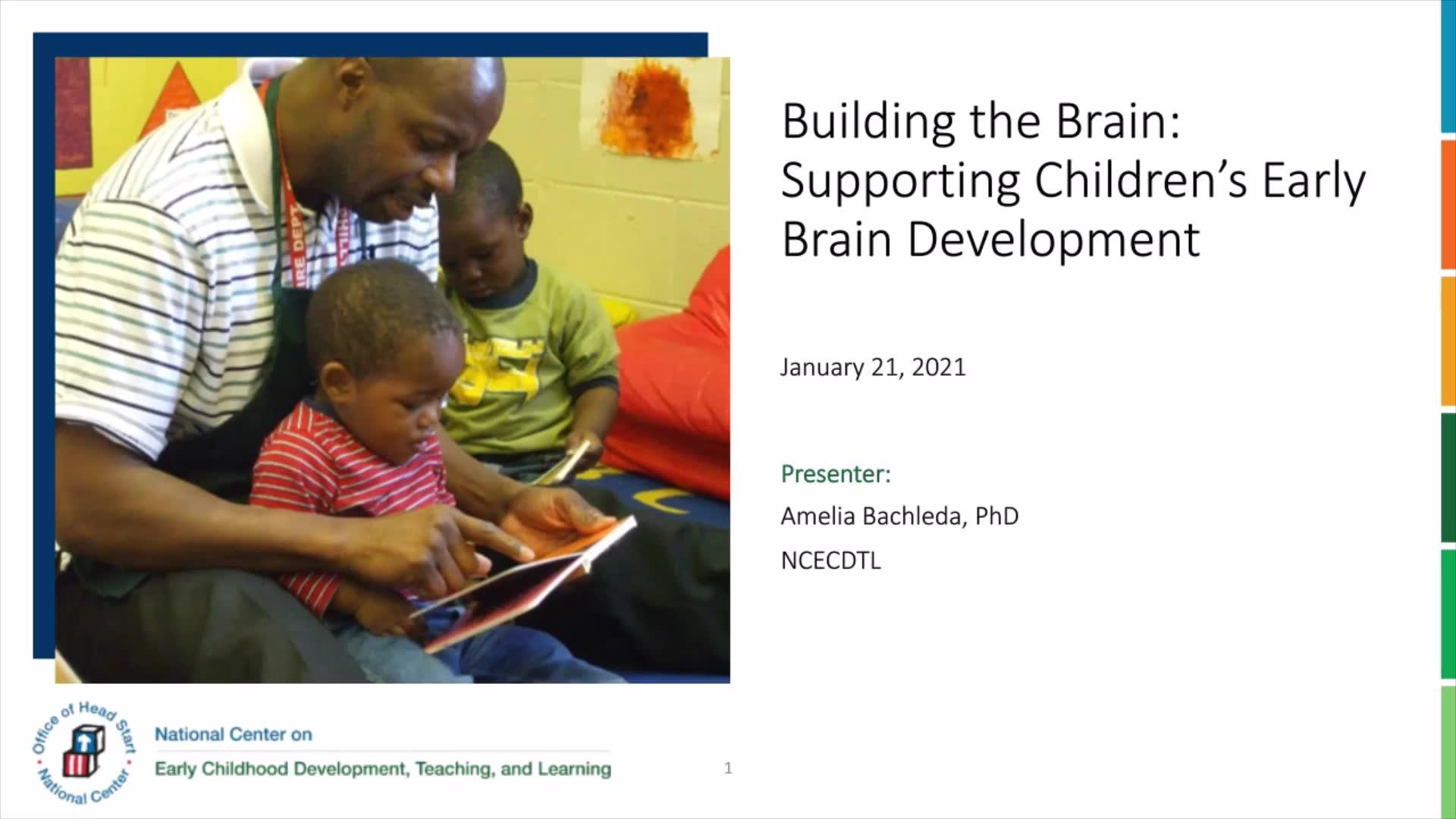 Formación del cerebro: Apoyo al desarrollo temprano del cerebro en los niños
