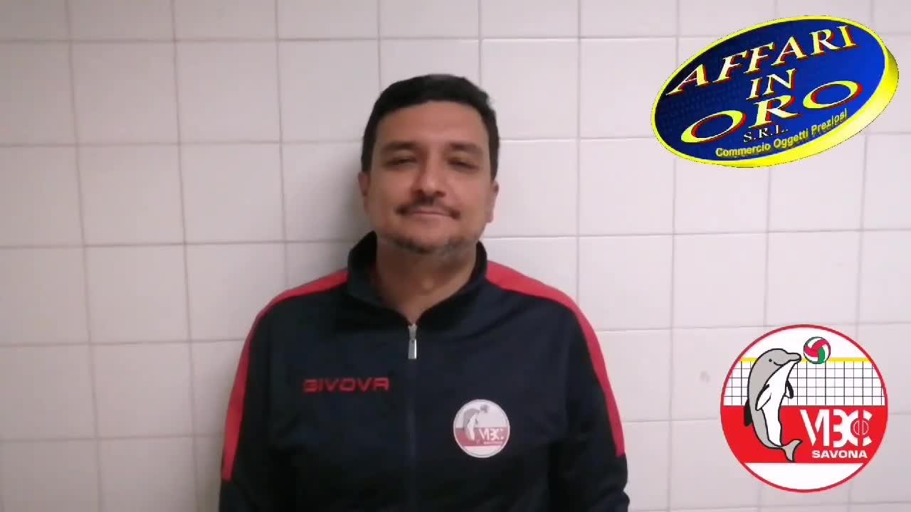 Prima sconfitta per il VBC Savona, il commento di Giordano Siccardi