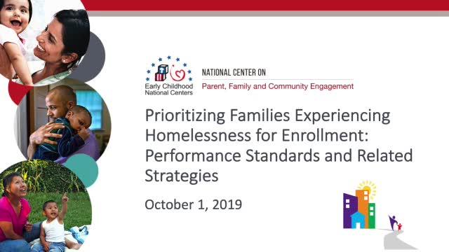 Priorizar la matrícula de las familias que experimentan carencia de hogar: Normas de Desempeño y estrategias relacionadas