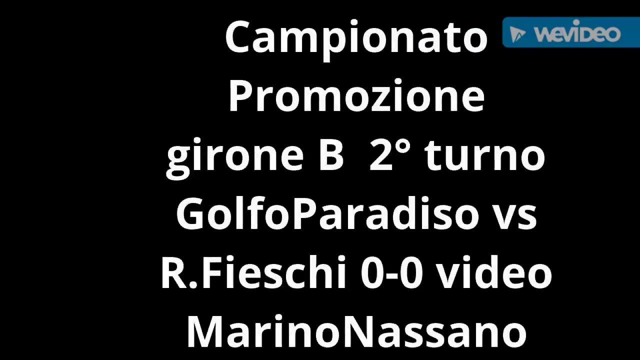 Calcio, Promozione: Golfo Paradiso PRCA vs Real Fieschi