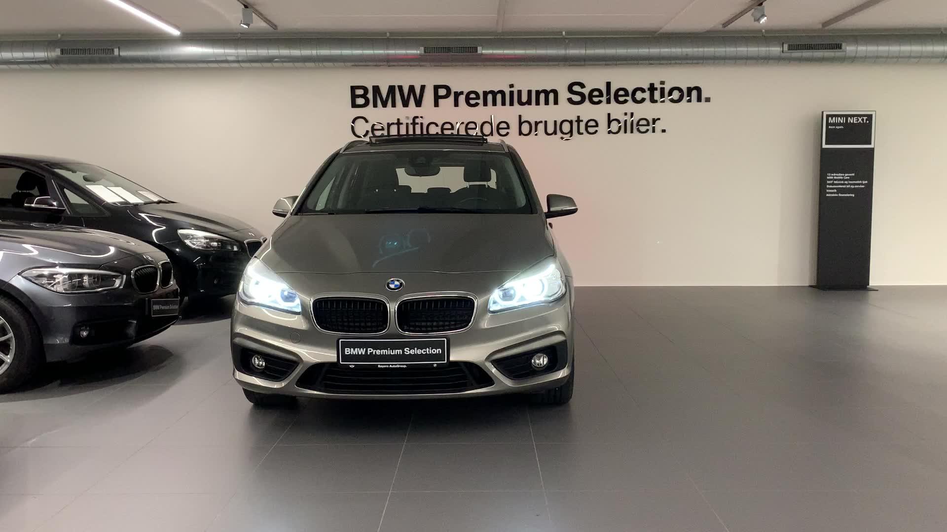 BMW 218d Active Tourer Advantage aut.