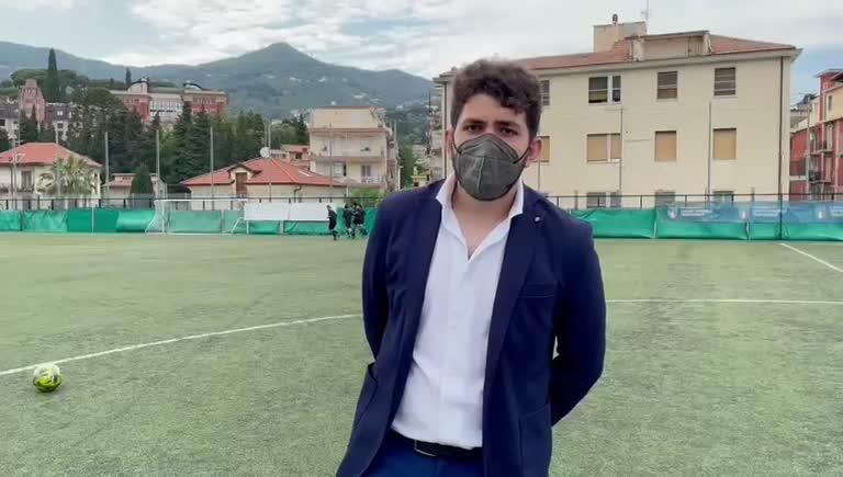 Associazione Giovani Alassio, Giacomo Aicardi e l'idea della partita amichevole benefica