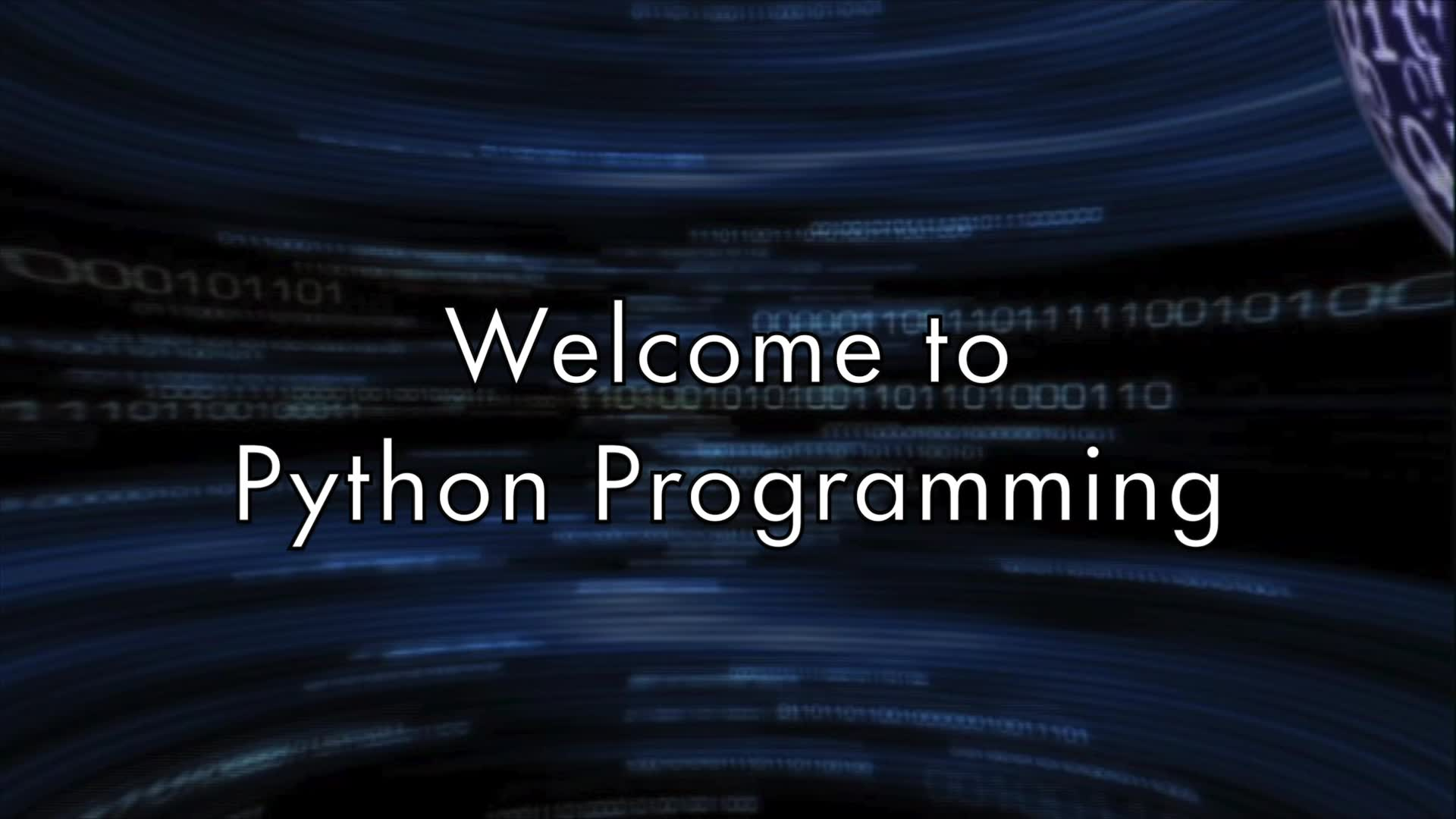 Welcome to Python - Guido van Rossum