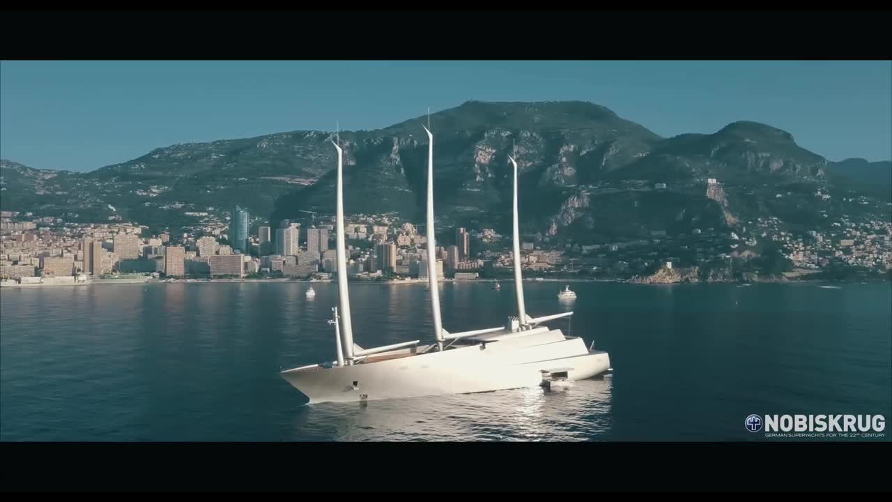 Sailing Yacht A in Monaco
