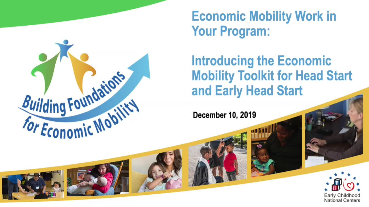 Introducing the Economic Mobility Toolkit