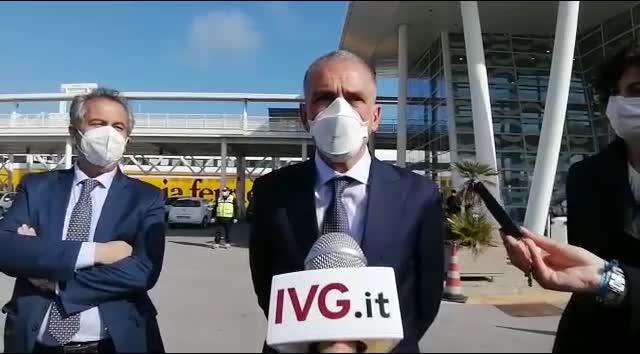 """Vaccini, sottosegretario Costa a Savona: """"Palacrociere esempio di sinergia pubblico-privato"""""""