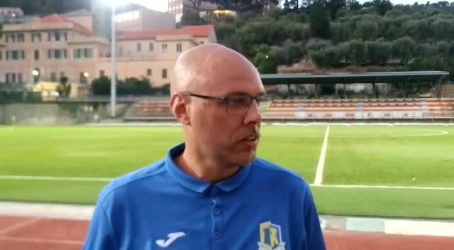 Cairese, Matteo Giribone festeggia il passaggio del turno di Coppa Italia Eccellenza
