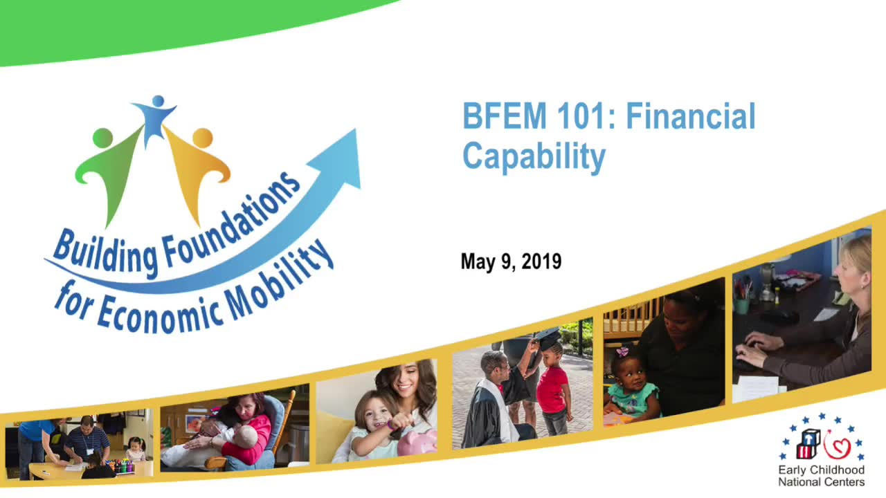 BFEM 101: Capacidad financiera