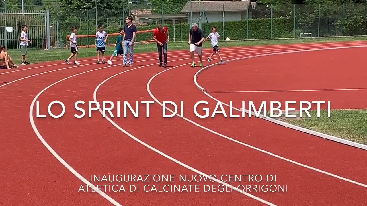 Video: Lo sprint di Galimberti