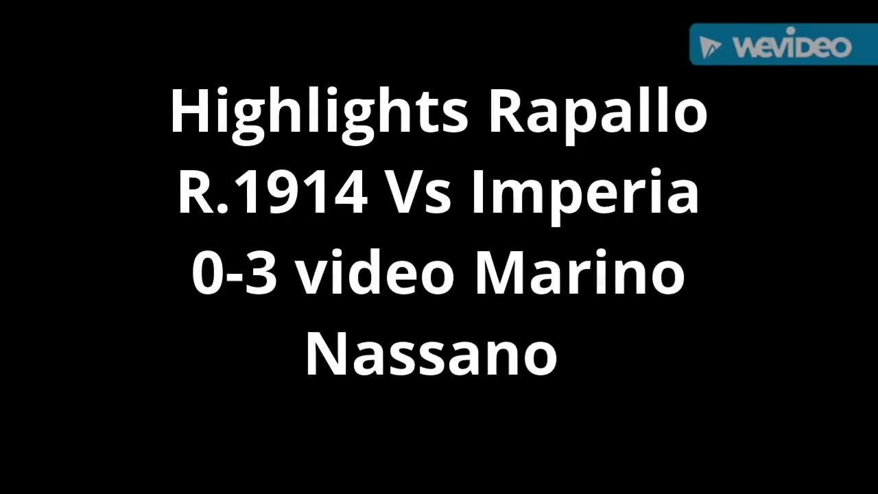 Eccellenza, Rapallo-Imperia: le azioni principali