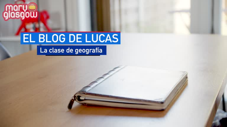 El blog de Lucas: La clase de geografía screenshot