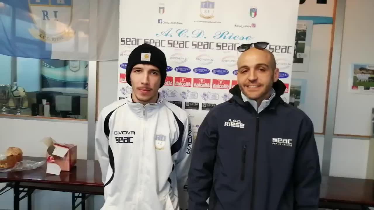 Riese-Borgoratti, i commenti di Matteo Cappelli e Maurizio Vargiu