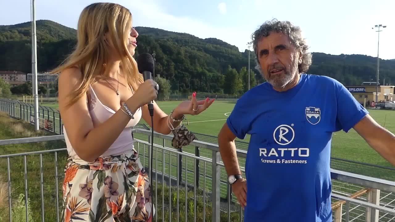 Busalla: il preparatore dei portieri Sandro Campanelli