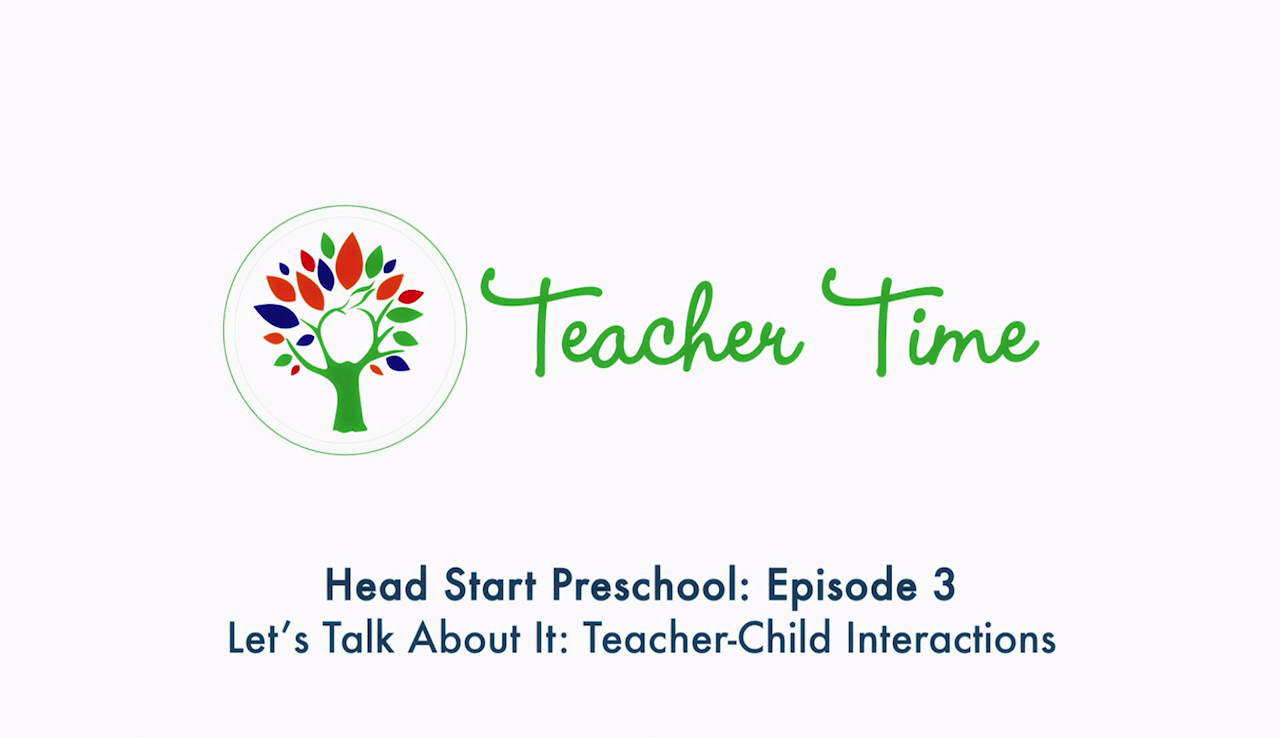 Episodio 3 de Tiempo para los maestros de preescolar