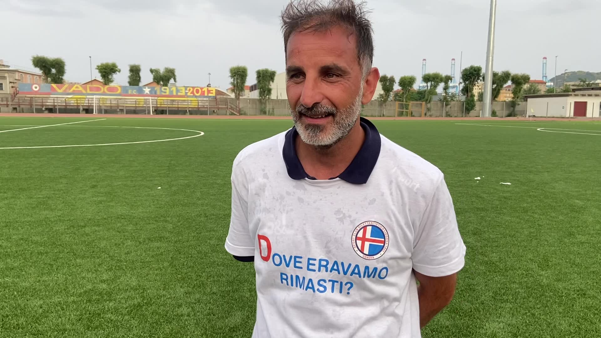 Ligorna, Roberto Scelfo si complimenta con i protagonisti della promozione dei biancoblù