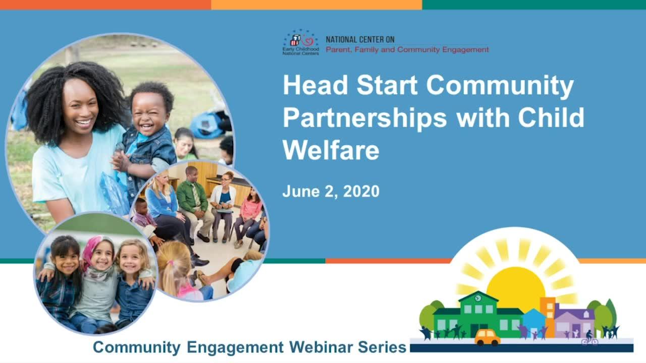 Community Partnerships with Child Welfare