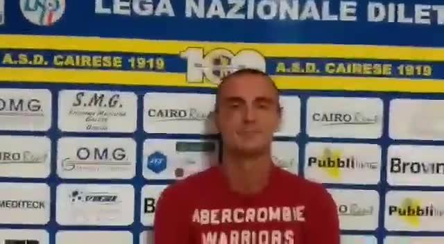 Cairese, intervista al portiere Alberto Moraglio