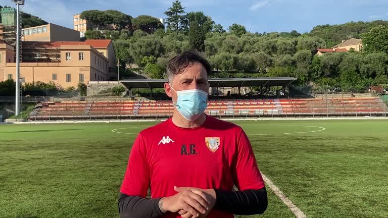 Eccellenza: Alessandro Grandoni commenta il pareggio tra Finale e Albenga