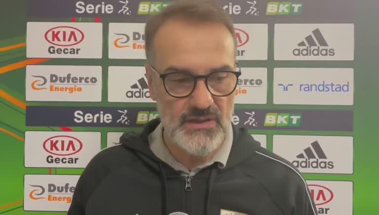 Entella-Cosenza, il commento di Vincenzo Vivarini