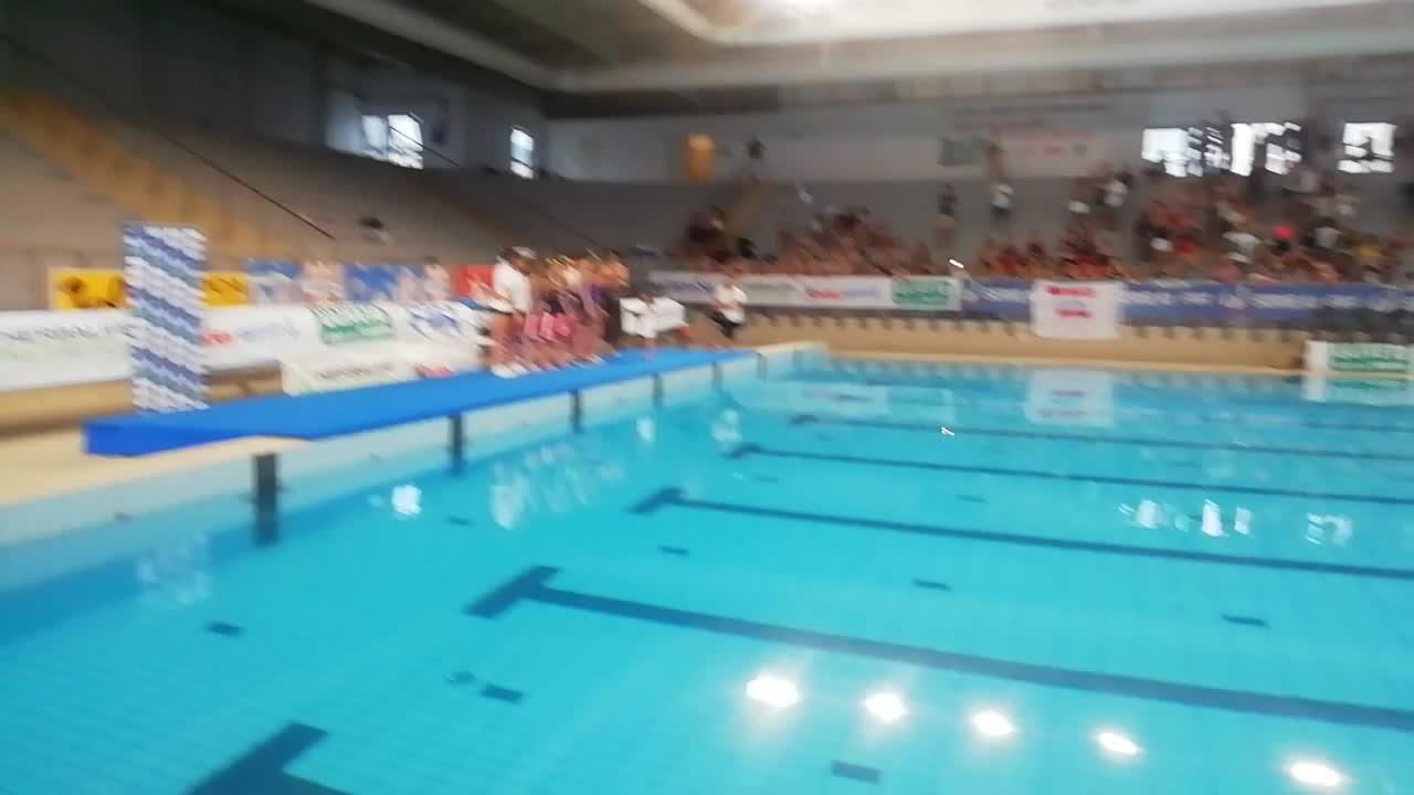 Nuoto sincronizzato: Campionato italiano Ragazze, la premiazione del Duo