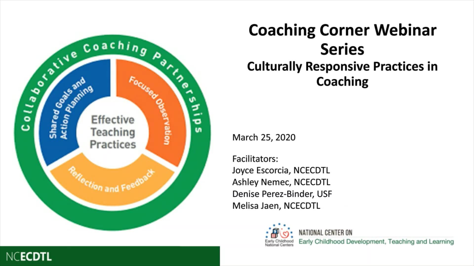 Culturally Responsive Practices in Coaching
