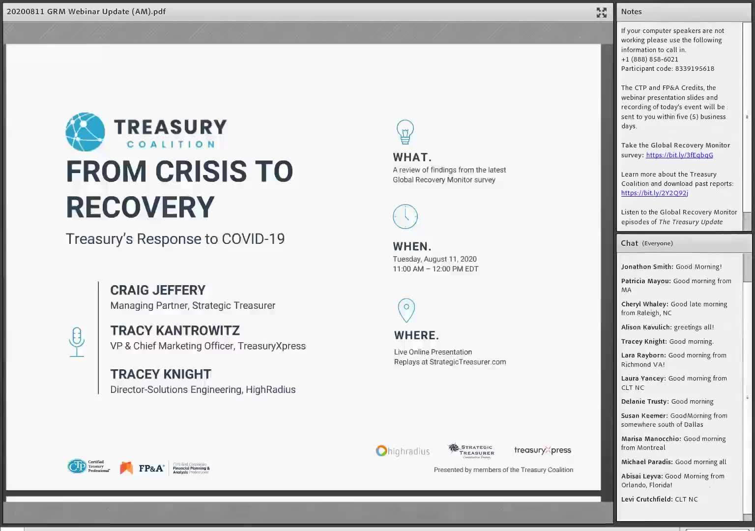 A Review of COVID-19's Impact on Treasury: From Crisis to Recovery