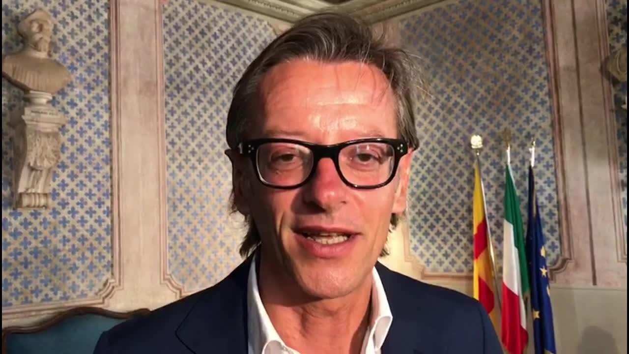 Il primo giorno di Tomatis da sindaco di Albenga