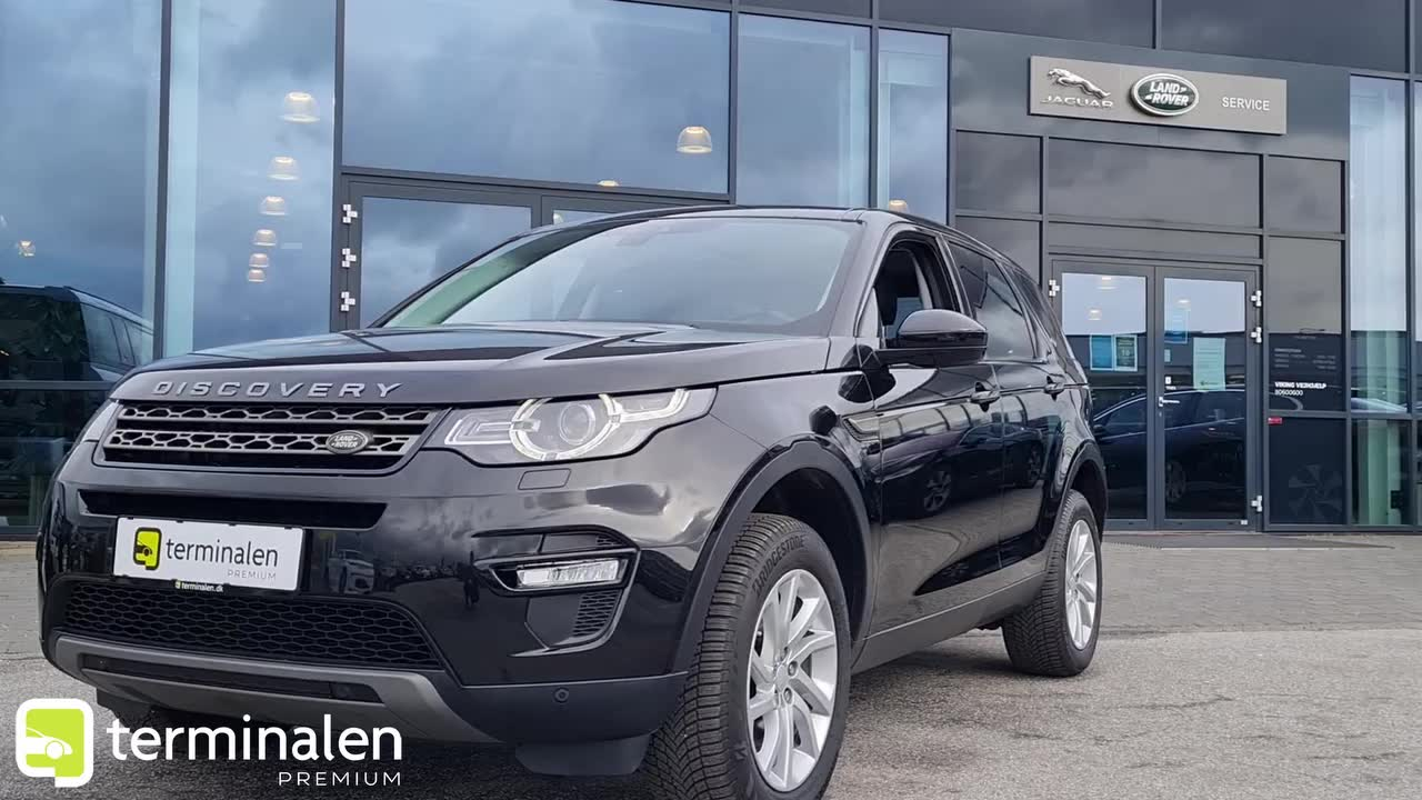 Land Rover Discovery Sport TD4 180 SE aut.