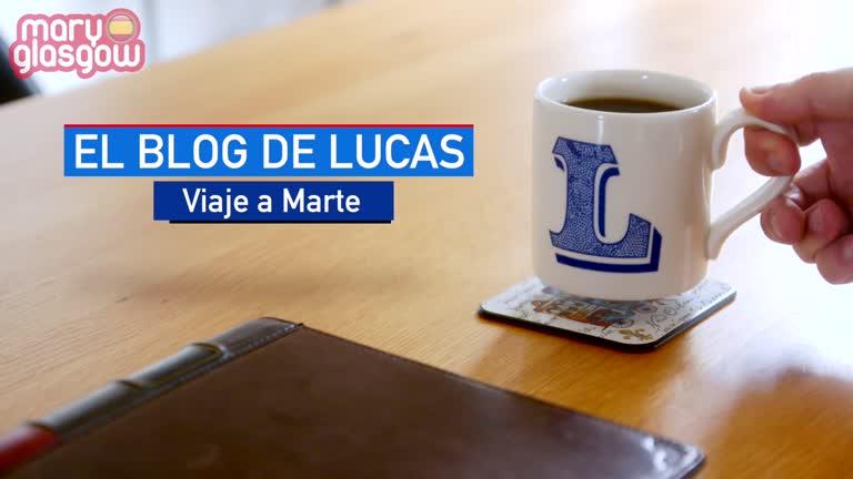 El blog de Lucas: Viaje a Marte screenshot