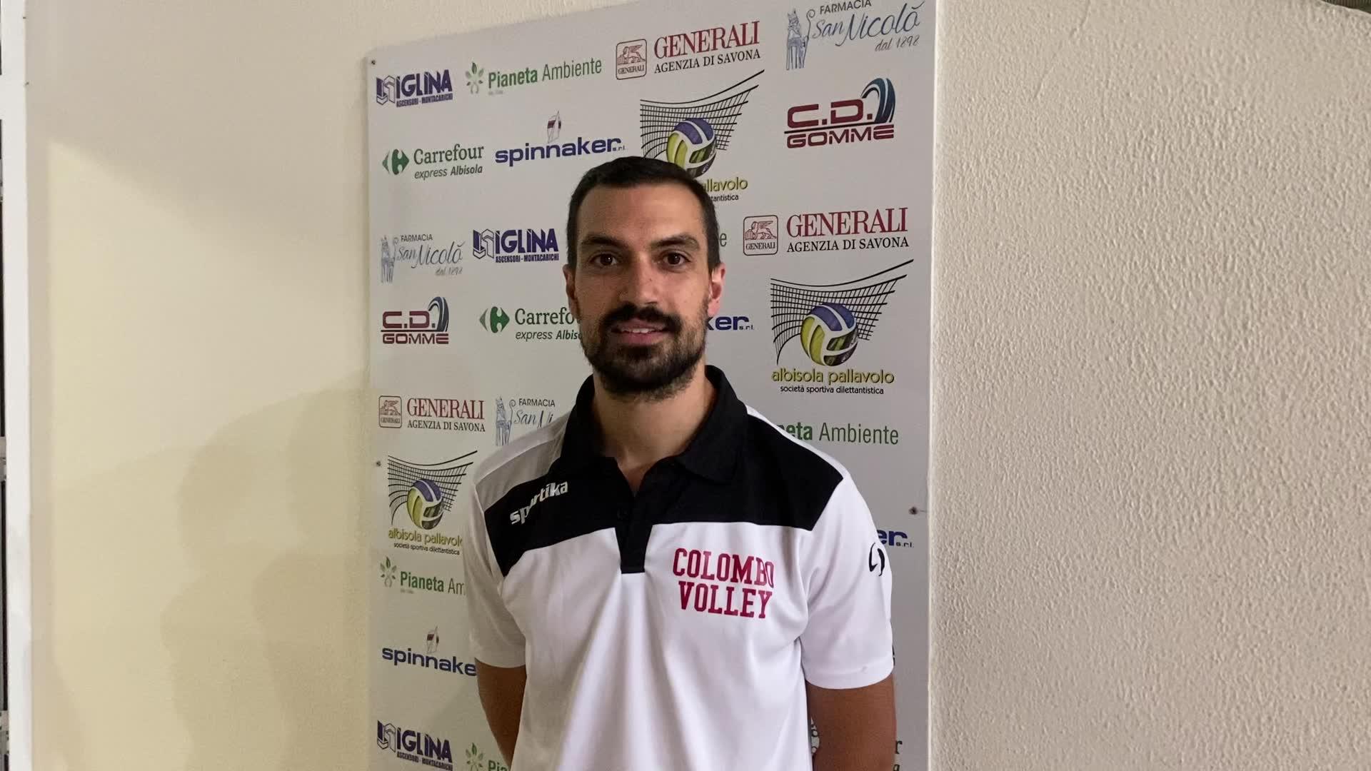 Colombo Genova, coach Lorenzo Bottaro analizza la vittoria dei suoi