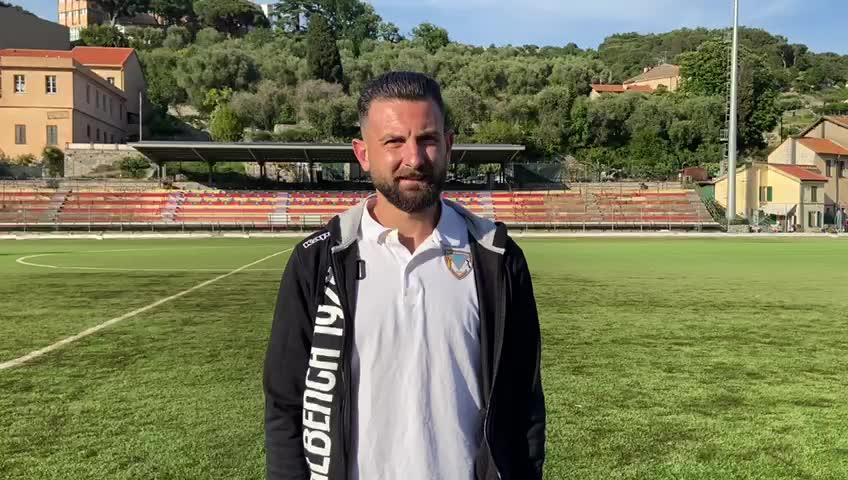 Nicholas Costantini parla al termine di Finale-Albenga