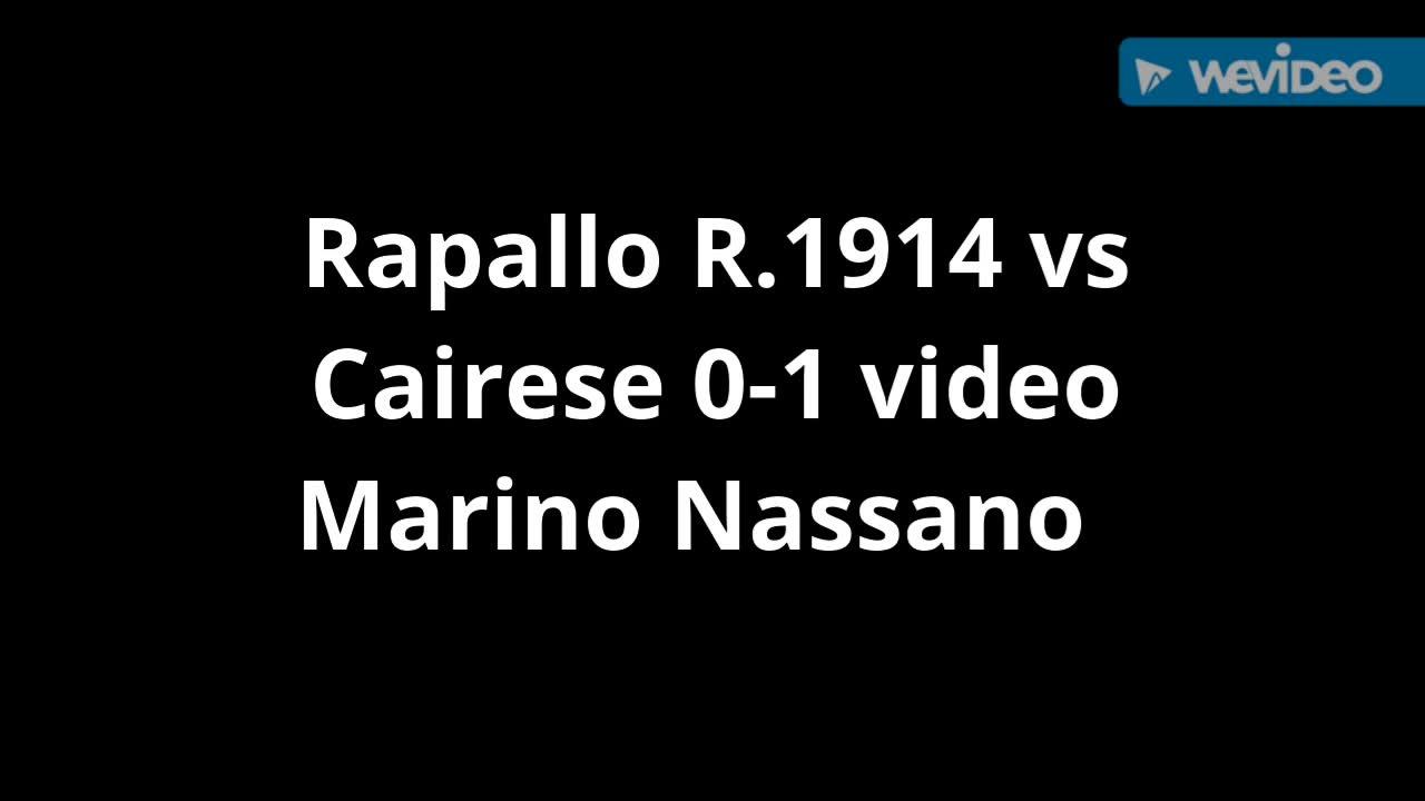 Eccellenza, Rapallo contro Cairese: la sintesi