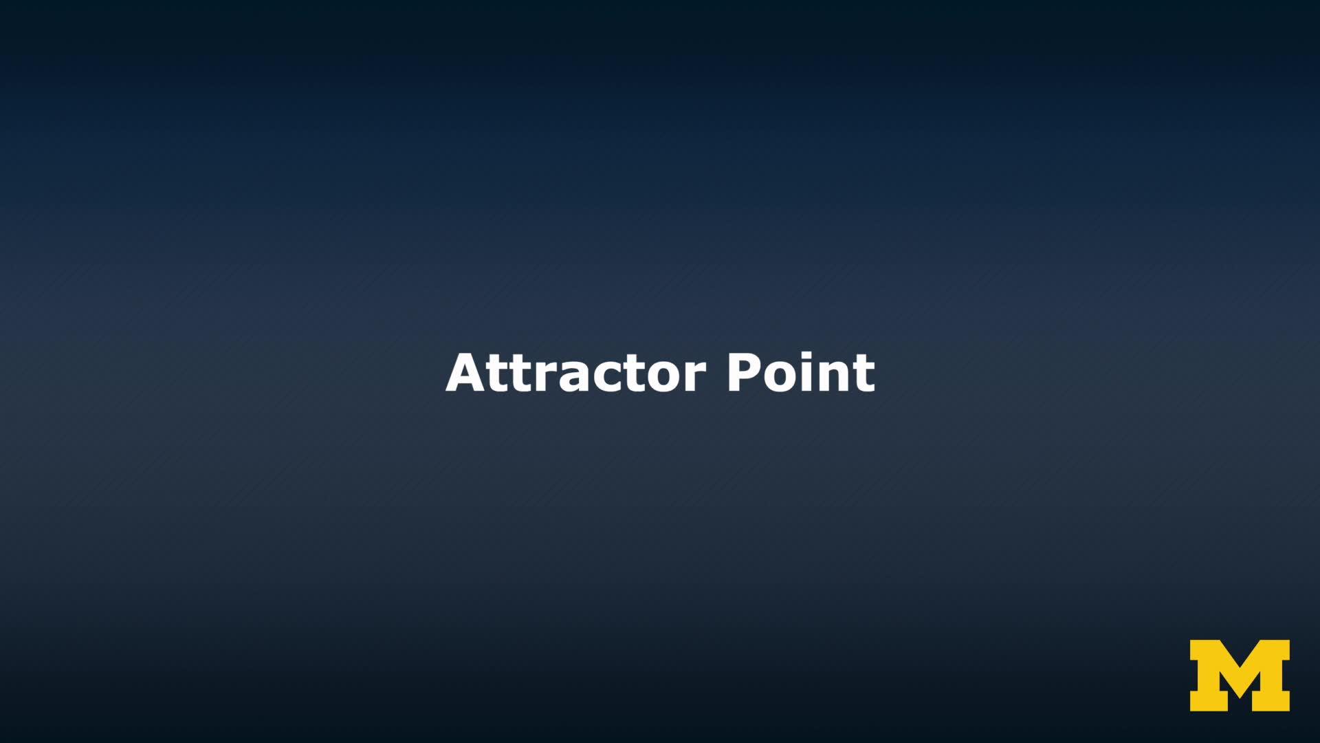 attractor point
