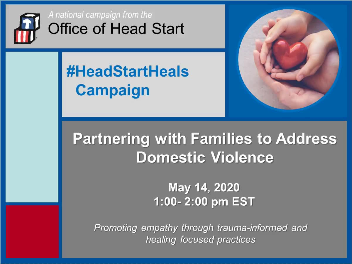 Partnering with Families to Address Domestic Violence