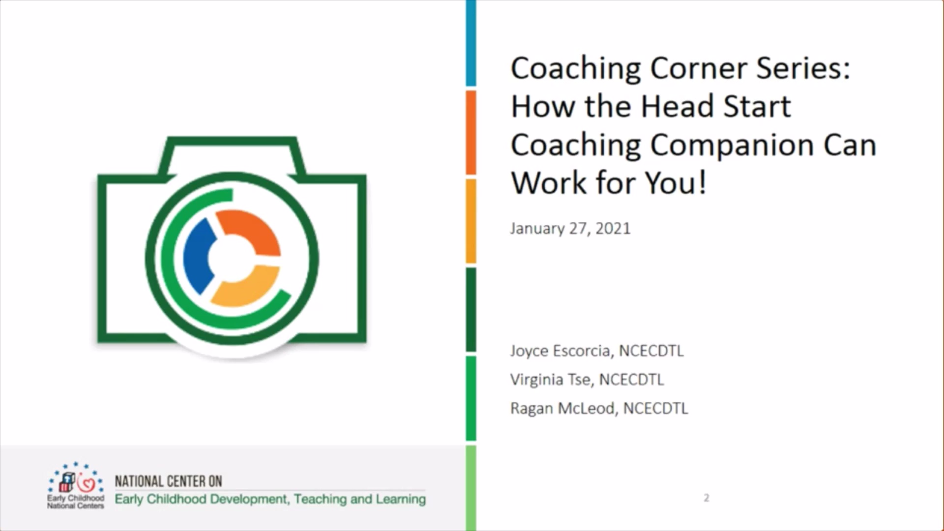 How the Head Start Coaching Companion Can Work for You