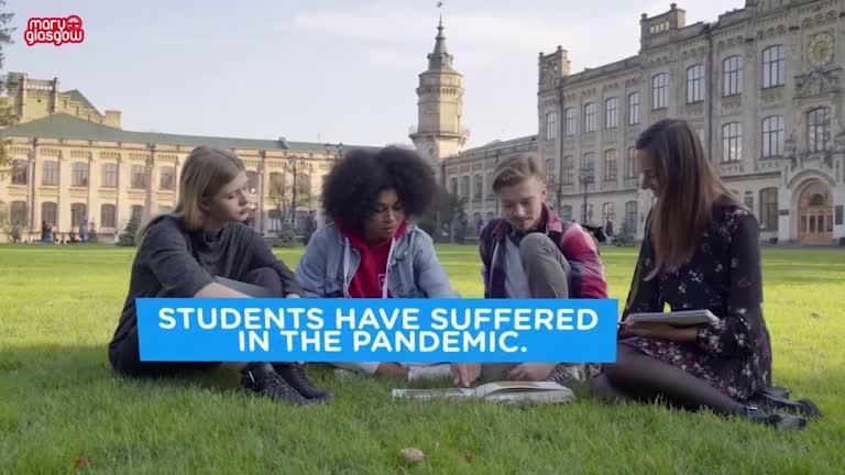 Student life in a pandemic screenshot